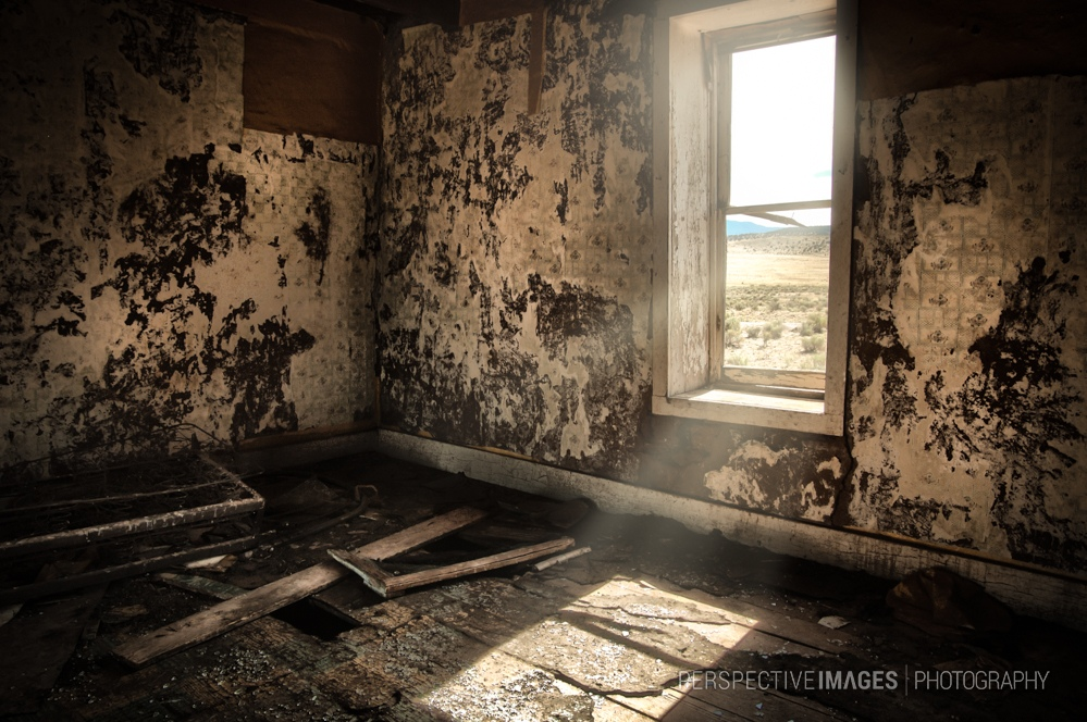 Scorched Earth - Abandoned ranch workers house on the plains of St. Augustine