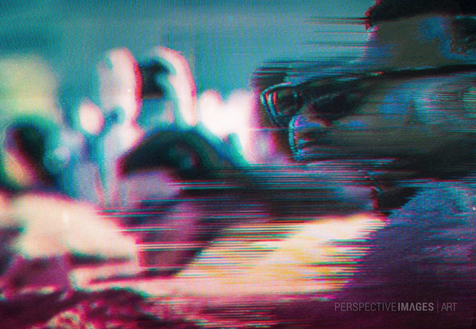 Getting to Know You - Glitch art